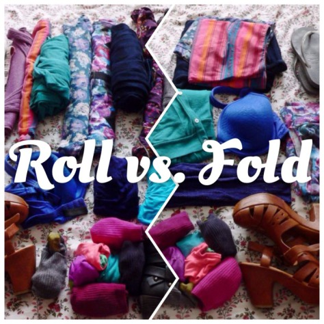 Roll vs. Fold: What's the Best Way to Pack to Save Space?